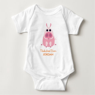 Leary the Pig Baby Bodysuit
