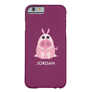Leary the Pig Barely There iPhone 6 Case