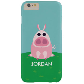 Leary the Pig Barely There iPhone 6 Plus Case