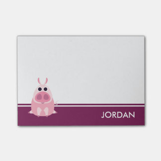 Leary the Pig Post-it® Notes