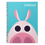 Leary the Pig Spiral Notebook