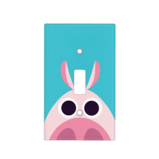 Leary the Pig Switch Plate Covers