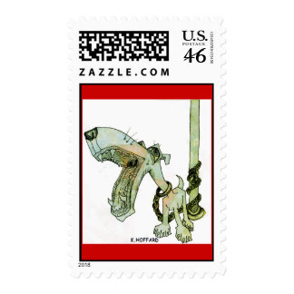 Leashed Postage Stamps