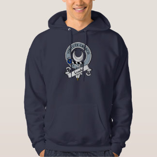 Leask Clan Badge Hoodie
