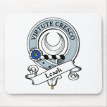 Leask Clan Badge Mouse Pad
