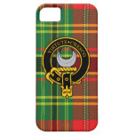 Leask Scottish Crest and Tartan iPhone 5/5S case