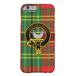 Leask Scottish Crest and Tartan iPhone 6 case