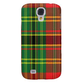 Leask Scottish Tartan Samsung Phone Case