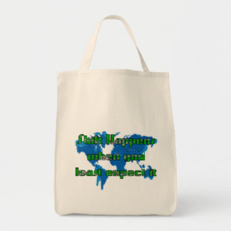 Least Expect Shift 2012 Tote Bag