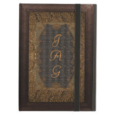Leather And Lace Ipad Air Cover at Zazzle