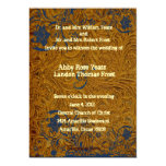 Leather and Lace Wedding Invitation