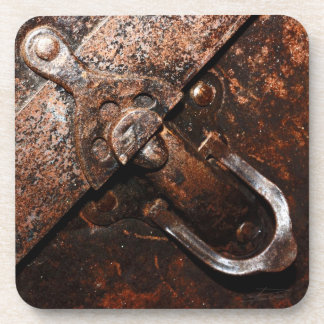 Leather and Latch Coaster