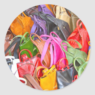 Leather Bags Stickers