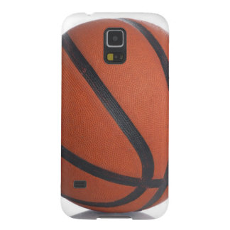 leather basketball isolated on a white background galaxy s5 case