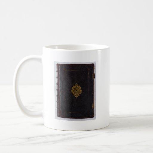 Penguin Book Cover Coffee Mugs : Leather book cover coffee mug zazzle