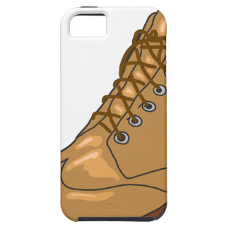 Leather Boot Sketch iPhone SE/5/5s Case