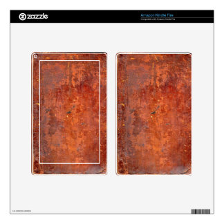 Leather Bound Antique Book Cover Kindle Fire Skin