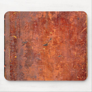 Leather Bound Antique Book Cover Mouse Pad
