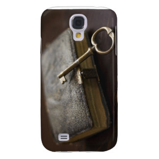 Leather Bound Diary Under Lock and Key Samsung Galaxy S4 Cover