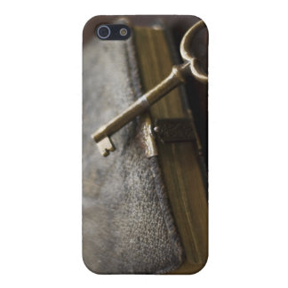 Leather Bound Diary Under Lock and Key iPhone 5 Cover