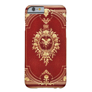Leather Bound Grunge Book Barely There iPhone 6 Case