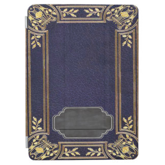 Leather Bound Grunge Book iPad Air Cover
