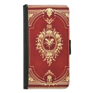 Leather Bound Grunge Book Samsung Galaxy S5 Wallet Case