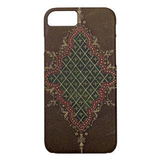 Leather Bound Grunge Book Texture iPhone 7 Case