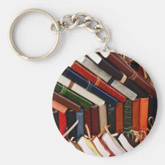 Leather-Bound Journals Keychain