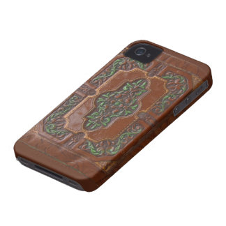 Leather Box ~ BlackBerry Bold CaseMate Barely iPhone 4 Case-Mate Case