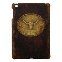 Leather Buckled Steer Case For The iPad Mini