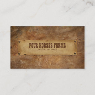 Leather Business Cards Zazzle
