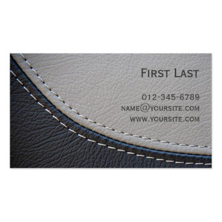 Leather. Business Card Templates