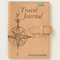 Leather Compass Travel Journal