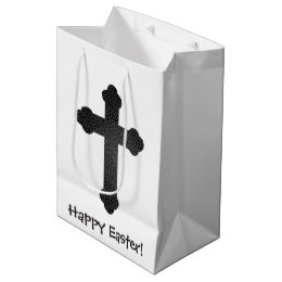 Religious easter gift bags zazzle leather cross easter gift bag negle Choice Image