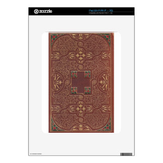 Leather Design, Antique Style iPad Decal