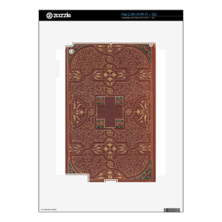 Leather Design, Antique Style Skin For iPad 2