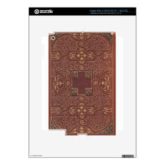 Leather Design, Antique Style Skin For iPad 3