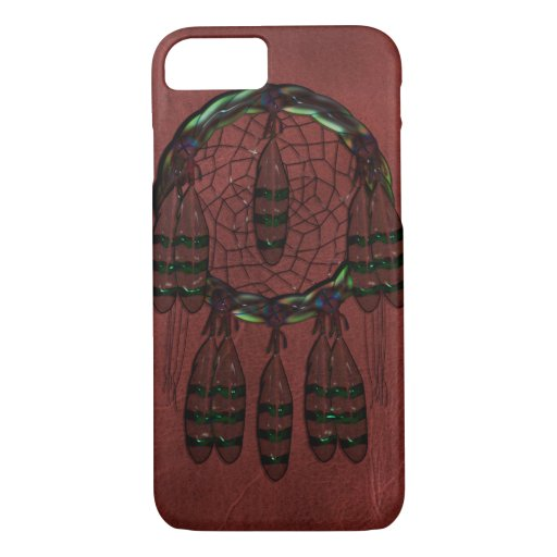 Leather Dream Catcher iPhone 8/7 Case