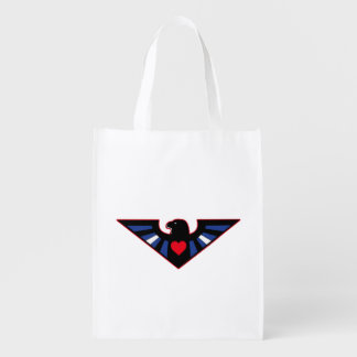 Leather Eagle Pride Grocery Bag
