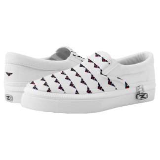 Leather Eagle Pride Printed Shoes