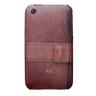 Leather Effect Personal Organizer iPhone 3G/3GS iPhone 3 Cover