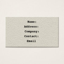 leather fawn - business card