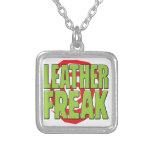Leather Freak G Necklace