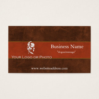Leather & Fur Business Cards