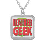 Leather Geek Pendants