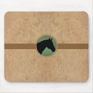 Leather Horse MousePad