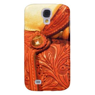 Leather Horse Saddle  Samsung S4 Case