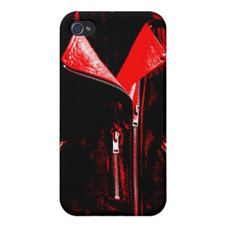 Leather Jacket Red iPhone 4/4S Cases
