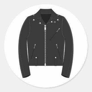 Leather Jacket Sticker